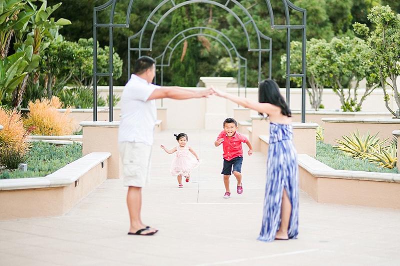 Newport Beach Family Session at the Newport Beach Marriot Villas