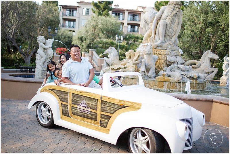 Newport Beach, California Family Session at the Marriott Coast Villa