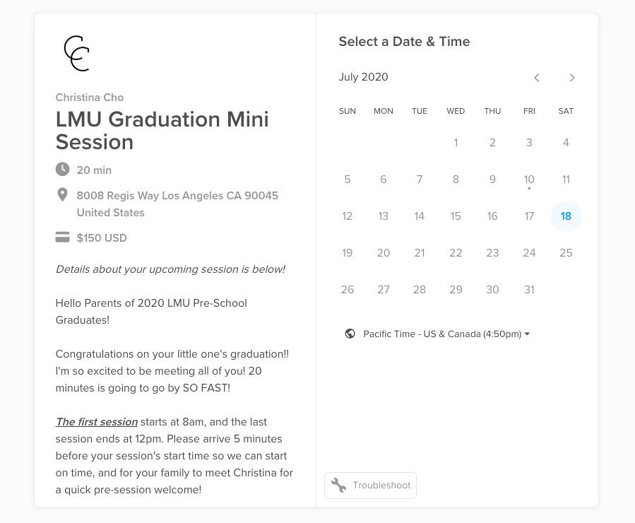 LMU Graduation Mini Session