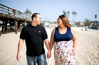 Valerie and Jeff's Maternity Session | Seal Beach 2017